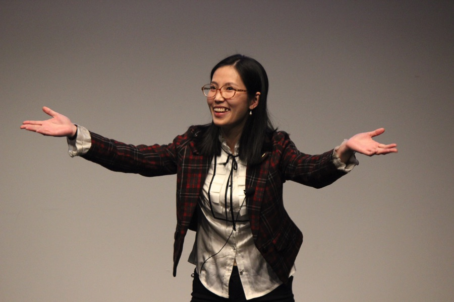 Yi Zheng at SBU 3MT 2018